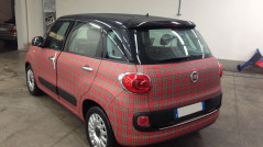 Car wrapping Fiat