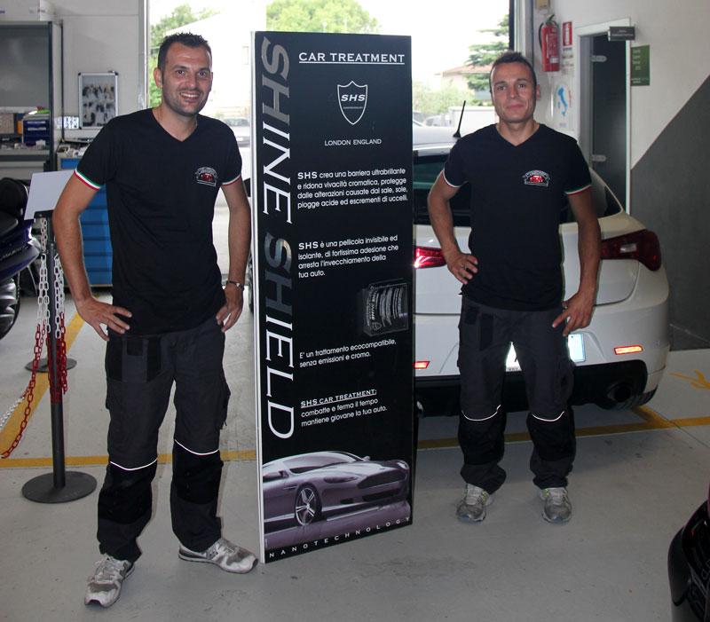 Shine Shield trattamento lucidatura auto